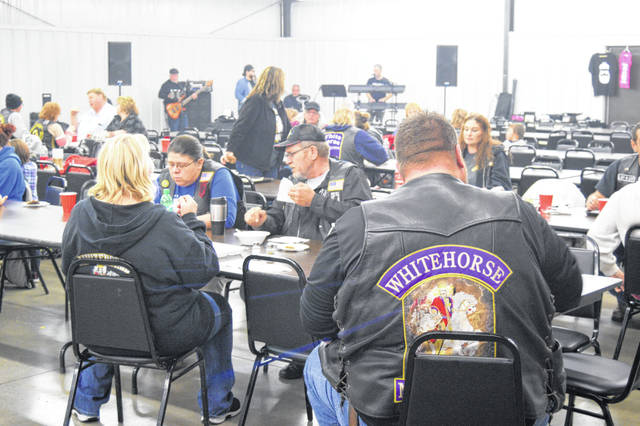 Veterans and bikers came together for fellowship Saturday in Middle Point.