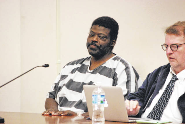 Everett Ward, 42, appeared Thursday in Allen County Common Pleas Court for a hearing on a defense motion to suppress statements he made to police following his arrest on rape charges.