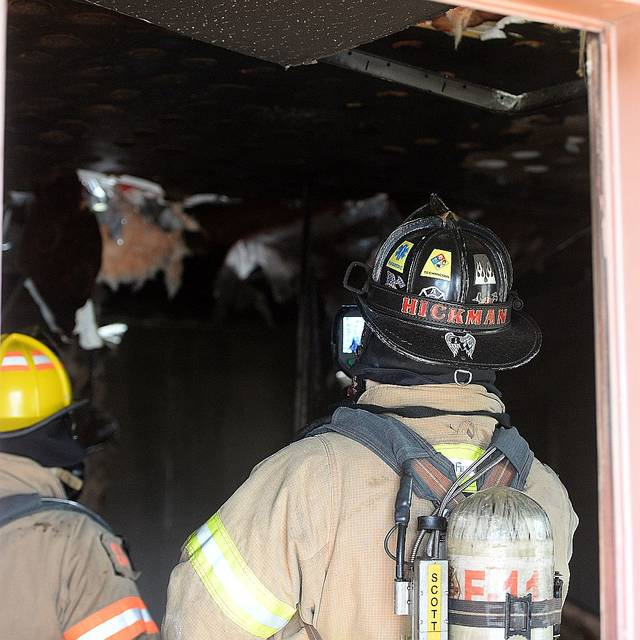 American Township Fire Department responded to a motel room fire at The Colonial Motel at 1940 Elida Road around 1:40 pm. Tuesday afternoon.  No injuries reported.  Richard Parrish | The Lima News