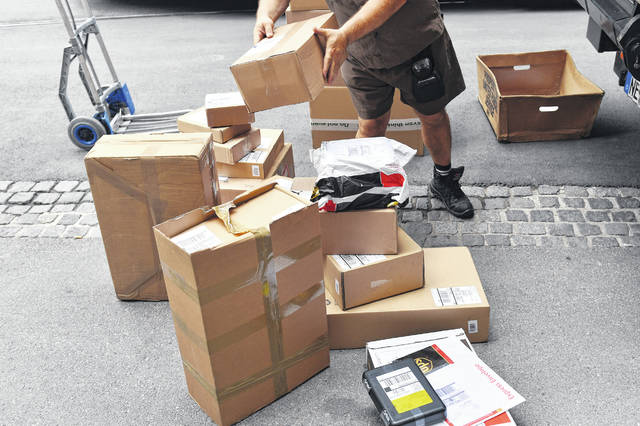 """On Jan. 2, which UPS calls """"National Returns Day,"""" it expects to handle 1.9 million return packages, up 26% from the peak day last holiday season. (/Sven Simon/DPA/Zuma Press/TNS)"""