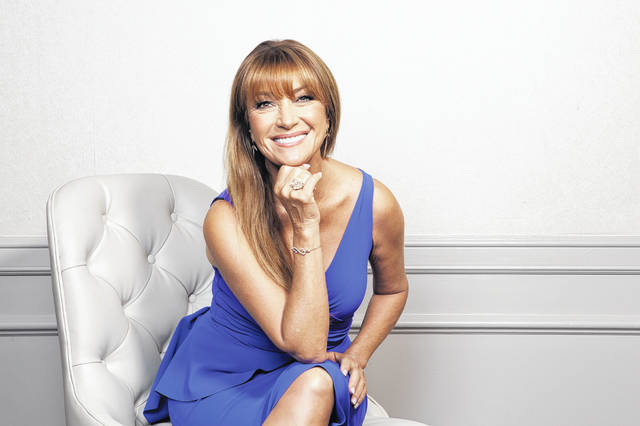 "This Oct. 6, 2019 photo shows actress Jane Seymour posing at The Four Seasons Hotel in Los Angeles to promote her role in ""The Kominsky Method."""