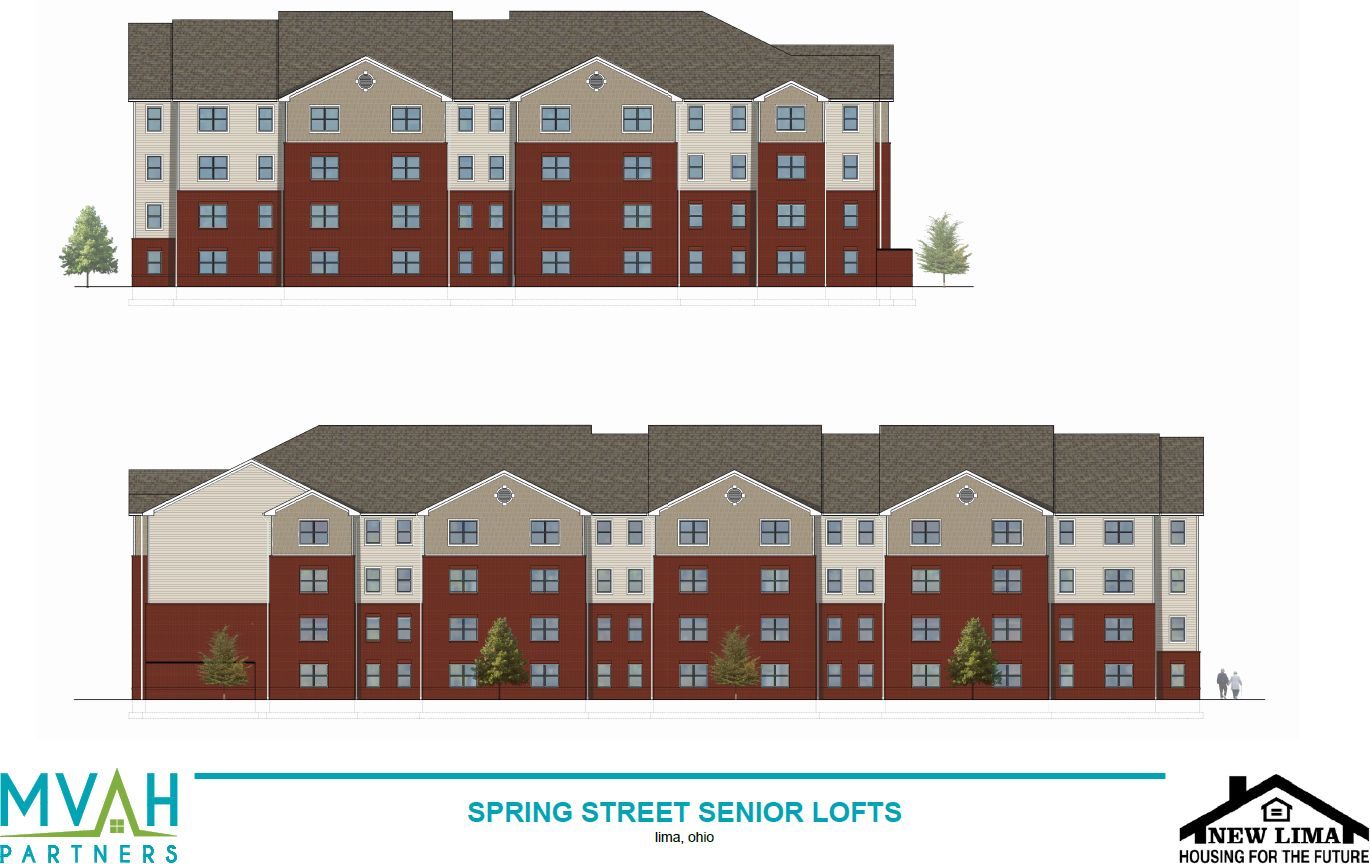 New Lima-Housing for the Future plans to demolish the former YWCA workout facilities behind the historic Hughes-Russell Mansion soon. In its place will be built an 88-unit affordable senior housing complex, Spring Street Senior Lofts.