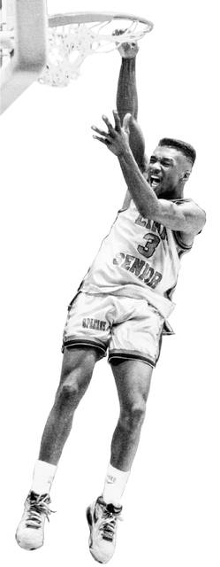 Greg Simpson was selected Ohio's Mr. Basketball in 1991 and 1992 while at Lima Senior.