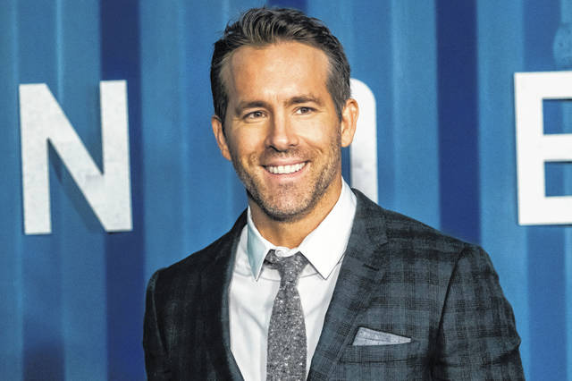 """Ryan Reynolds attends the premiere of Netflix's """"6 Underground"""" at The Shed at Hudson Yards on Tuesday, Dec. 10, 2019, in New York. (Photo by Charles Sykes/Invision/AP)"""