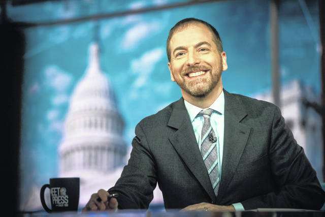 "Moderator Chuck Todd appears on NBC's ""Meet the Press"" in Washington in November. A special ""Meet the Press"" episode on disinformation in politics is scheduled for Dec. 29."