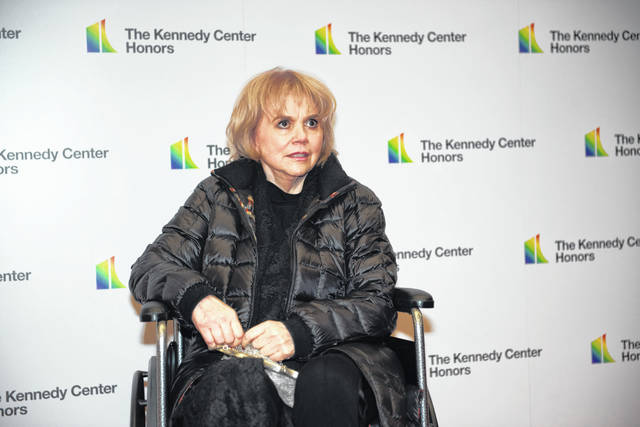 Linda Ronstadt, a 2019 Kennedy Center honoree singer, arrives at the State Department for the Kennedy Center Honors State Department Dinner on Dec. 7.
