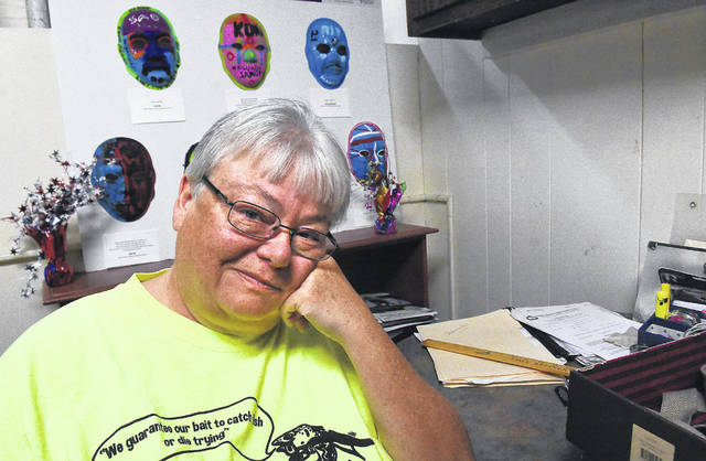 """Annie Edwards, a volunteer at Changing Seasons, needed a three-day self-imposed stint in solitary confinement to help her start healing from past traumas. """"Multiple times over the years, I had medicine, and I didn't want to take it. A lot of times, I thought I didn't need it,"""" Edwards said. Her brain played loops of past physical and sexual abuse until it was more than enough to recognize that the alcohol, anger and violence she had relied upon wasn't enough."""