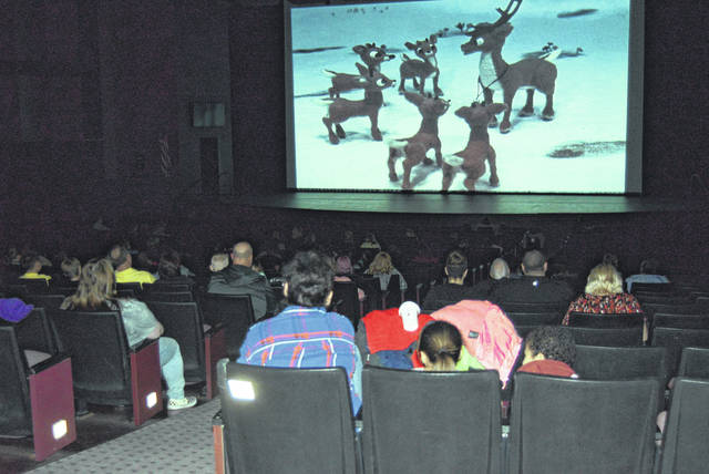 An estimated 120 people turned out Saturday to see two holiday-themed free movies at Veterans Memorial Civic Center.