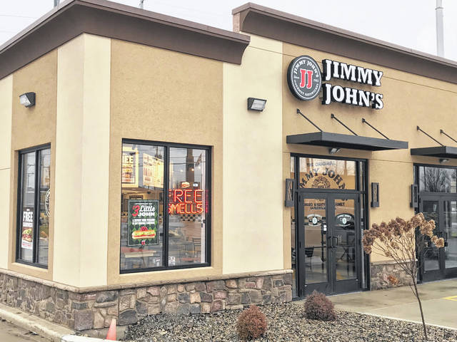 The new Jimmy John's on Harding Highway formally opened to the public Thursday, Dec. 5.