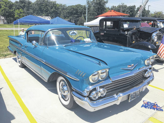 Tom Reese, of Waynesfield, owns this 1958 Chevy Impala.