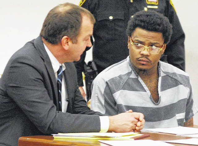 Jemonte McNeal, charged with murder in the December 2018 shooting death of Lima resident Anthony Bankston, appeared in Allen County Common Pleas Court on Thursday with his attorney, Jon Paul Rion.