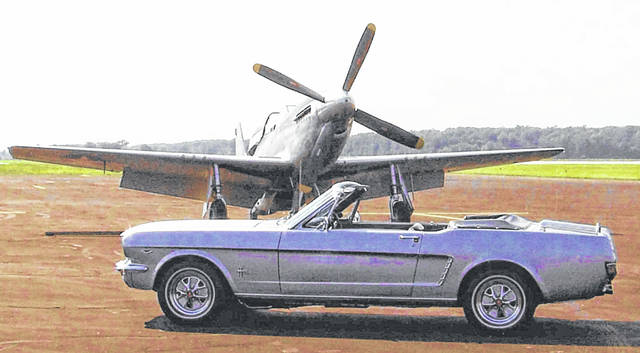 <strong>2018 CAR OF THE YEAR: </strong>1964 Ford Mustang convertible owned by Bob Dirksen, Lima