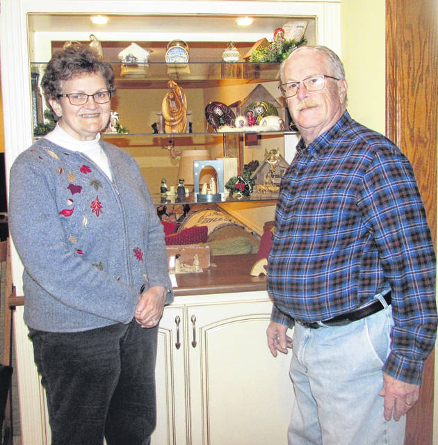 Ottawa couple Beth and Chas Myers have collected more than 60 Nativity scenes over the last 45 years.