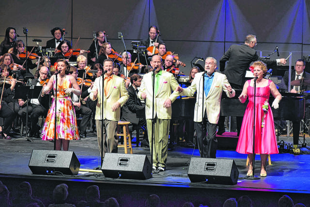 The Lima Symphony Orchestra is joined by Five By Design for a prior New Year's Eve concert at Veterans Memorial Civic Center.