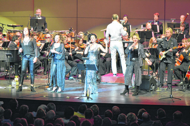 Lima has previously celebrated New Year's Eve with the music of ABBA in a concert at Veterans Memorial Civic Center.