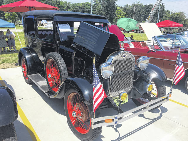 Garry Ricker comes from a family of Ford Model A fanatics. He's owned this 1929 model for 12 years.