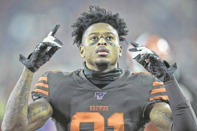 Unless signed to a contract extension, Rashard Higgins is among the Browns players who can sign with any team once the free agency period begins March 18.