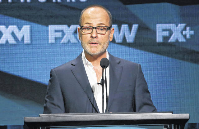 John Landgraf, CEO of FX Networks and FX Productions, participates in the executive panel during the FX Television Critics Association Summer Press Tour in Beverly Hills, Calif., last year.