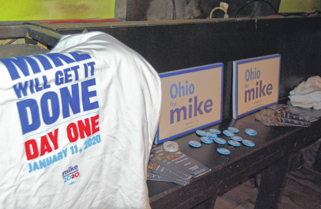 The Mike Bloomberg campaign made their presence felt at a voter registration effort in Lima, Saturday night.