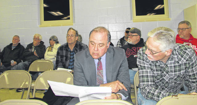 Bath Township residents voiced their concerns with creating a 309 corridor overlay district Thursday night during a public hearing.