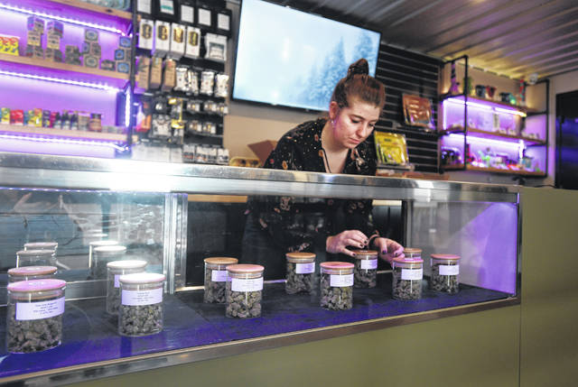 20 Past 4 became the second business in Jackson County, Michigan, to sells recreational marijuana when it opened its doors at 10 a.m. Wednesday. The business invested nearly $1 million into the project, including the remodel, licensing fees and the product itself.