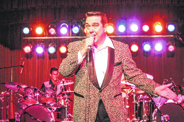Linwood Sasser performs as the Big Bopper.