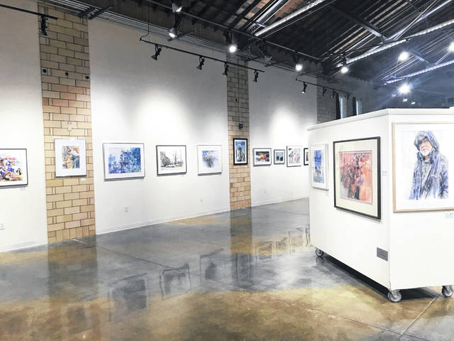 The Ohio Watercolor Society Exhibit will be on display through Feb. 2 at Wassenberg Art Center.