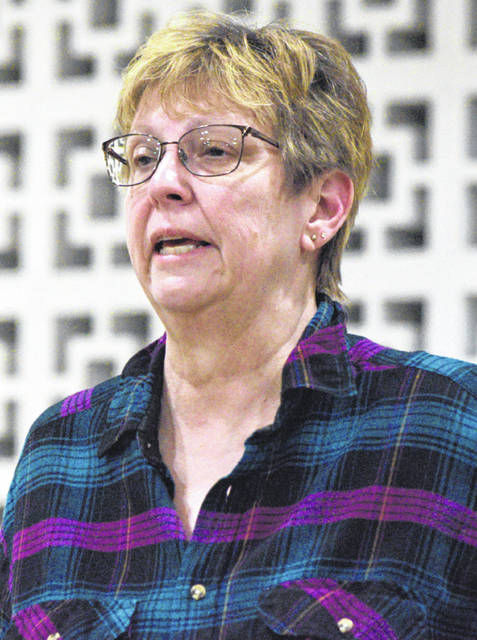 Jane Kimmell voiced her displeasure at the possibility of roundabouts on state Route 309.