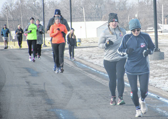Runners braved 32-degree temperatures Wednesday and participated in the Chilly 5k on New Year's Day at the Putnam County YMCA.