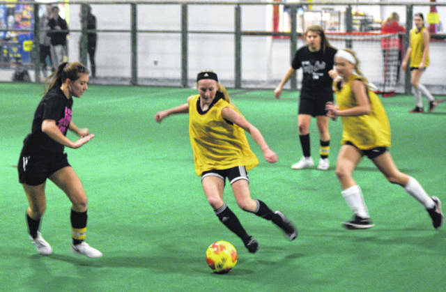 Apex Sports Zone hosted a 3v3 indoor soccer tournament over the weekend.