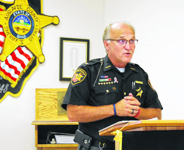 Al Solomon, the sheriff of Auglaize County who plans to retire at the end of 2020, was a surprise selection as the president of the Buckeye State Sheriff's Assocation.