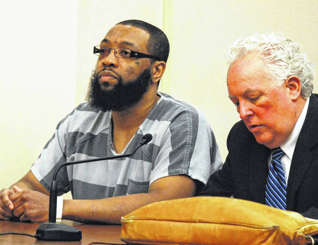 A new tentative trial date of April 14 was set Monday in Allen County Common Pleas Court for Timothy Youngblood, 33, of Lima, charged with murder in the 2018 stabbing death of his father.