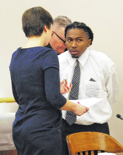 Rasheign Tisdale, 24, of Lima, was sentenced Thursday to 48 months in prison on firearm and theft charges. Tisdale was at one time a suspect in the 2018 shooting death in Lima of Anthony Bankston.