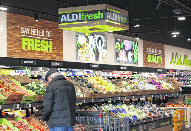 In a recent survey of Aldi shoppers, Kantar Retail found speed was central to Aldi's appeal. Survey respondents said it was 20% faster to shop at Aldi than at other stores. They also said shopping there was fun. Tribune Media photo