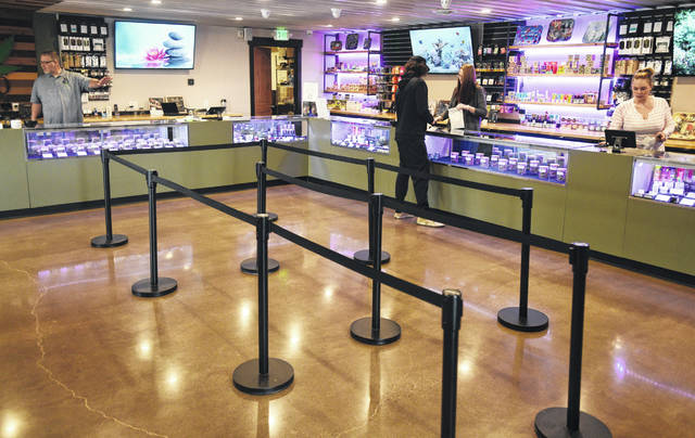 A former outlet store in Jackson County, Michigan, has been transformed into 20 Past 4, a retail store which sells recreational marijuana.