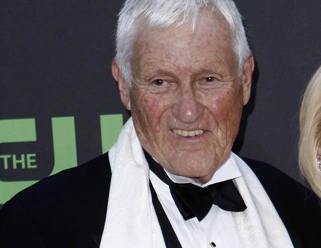 FILE - In this file photo dated Sunday Aug. 30, 2009, actor and comedian Orson Bean arrives at the Daytime Emmy Awards in Los Angeles, USA. According to a statement from the Police in Los Angeles Saturday Feb. 8, 2020, Orson Bean was hit and killed by a car in Los Angeles. Bean was 91. (AP Photo/Matt Sayles, FILE)