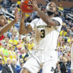 Michigan routs Indiana 89-65, helps NCAA Tournament chances