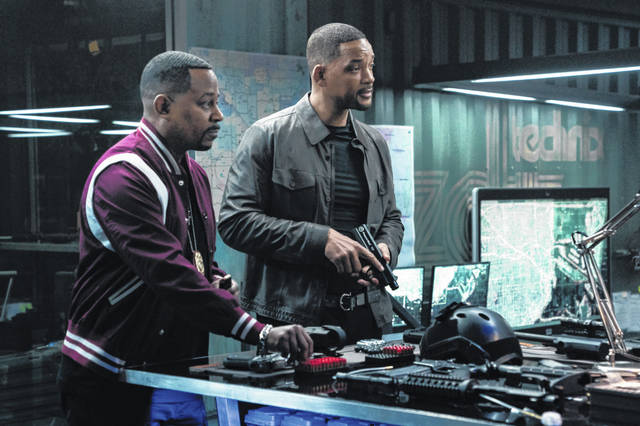 "This image released by Sony Pictures shows Martin Lawrence, left, and Will Smith in a scene from ""Bad Boys for Life."""