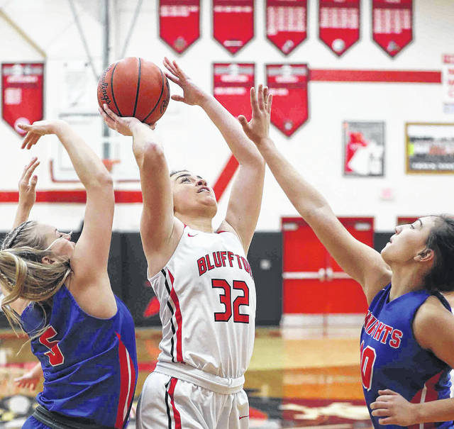 Bluffton 's Libby Schaadt will be counted on if the Pirates are going to make a playoff run.
