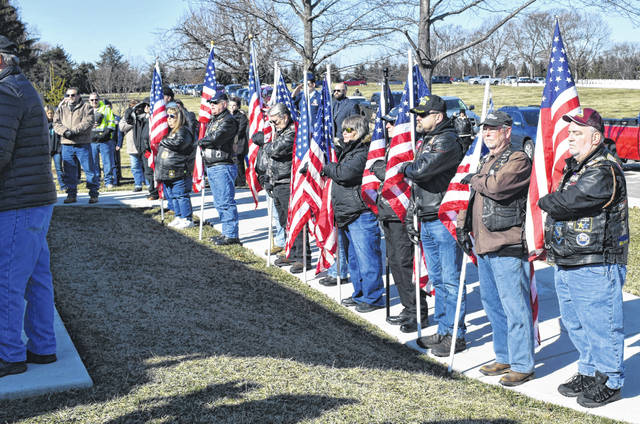 The services for Lima native and Vietnam veteran James Cummins were held Friday morning at Dayton National Cemetery. The services included full military honors and had a gathering of about 100 people.