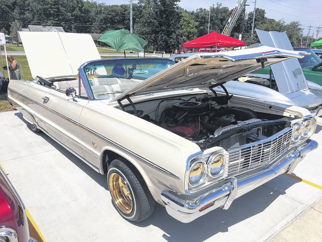 Pat Law of Lima brought this 1964 Chevrolet Impala to the Westgate Charity Car Show held last June. He has owned the car for five years.