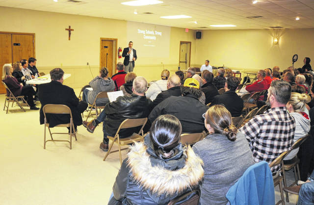 More than 200 people attend community meeting on tax levy for Delphos schools