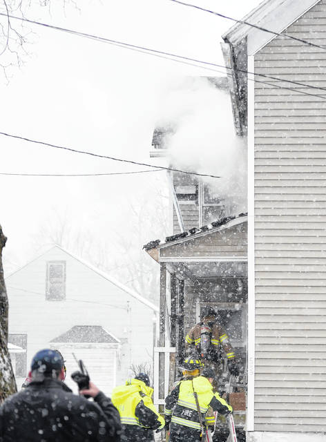 A Sunday afternoon fire did $10,000 worth of damage to a home at 533 N. McDonel Street in Lima.