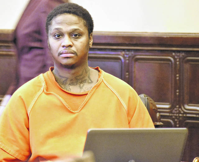 Keith Waddell Jr., also known as Keith Tyrone and Keith Bitting, appeared in Auglaize County Common Pleas Court Friday for a pre-trial hearing. Waddell's attorneys are seeking to suppress statements made by their client to police in connection with the April 11, 2018, shooting death of Dexter Turner in an apartment complex south of St. Marys.