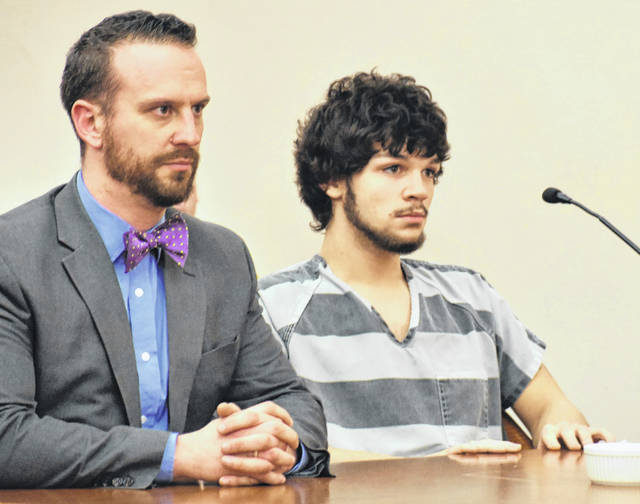A judge sentenced Kirk Brenneman, 19, of Lima, on Wednesday to seven years in prison for his role in the armed robbery of a woman last September.