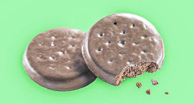 Girl Scouts of America Thin Mint cookies. (Girl Scouts of America/TNS)