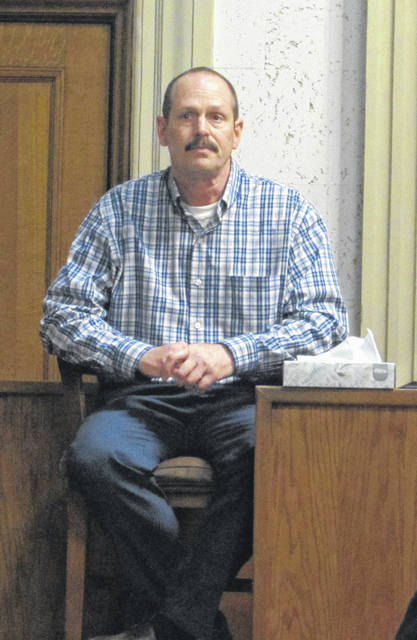 Pictured is Michael T. Huizenga, who took the stand Wednesday during his jury trial in Putnam County on rape charges.