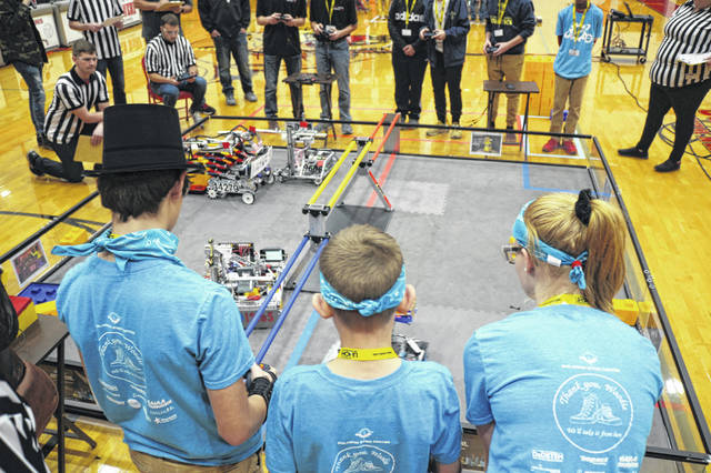 Robotics teams from all over the region competed Saturday at Van Wert High School.