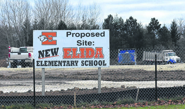 The site of the proposed Elida Elementary School is 300 Pioneer Road, just outside the Elida village limits. The village wants the property annexed into the village.