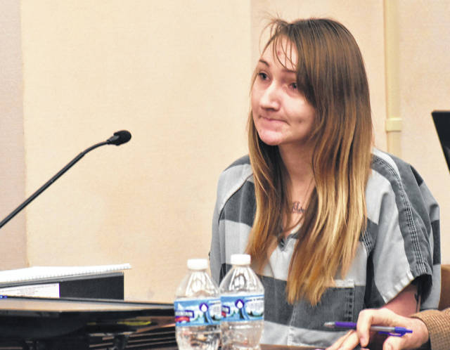Shelly Wireman, 26, of Lima, will be sentenced March 23 after pleading guilty Wednesday to two counts of endangering children in connection with the 2018 beating death of her 18-month-old son, Jaxxon Sullivan. Wireman's former live-in boyfriend, Gabriel Salyers, is currently serving a prison sentence of 31 years to life for killing the infant.